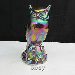 Fenton Red Carnival Owl 1996 A51
